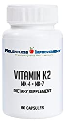 15,000 mcg MK-4 PLUS 60 mcg Mk-7 in one easy to swallow capsule PHARMACEUTICAL-GRADE PURITY MK-4 in this product is < 1% CIS Form, the MK-7 is