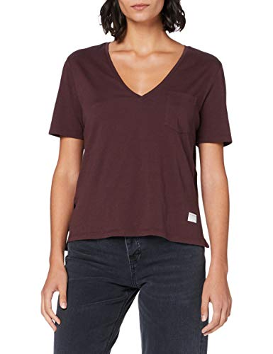 G-STAR RAW Core Ovvela Straight Camiseta, dk Fig 4107-1545, XX-Large para Mujer