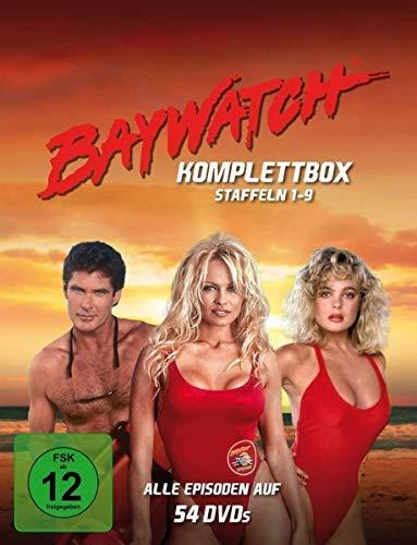 Alerte à Malibu / Baywatch - Complete Seasons 1-9 - 54-DVD Box Set ( Baywatch (Seasons 1-9) / Baywatch Hawaii (Seasons 1 & 2) / Baywatch Nig [ Origine Allemande, Sans Langue Francaise ]
