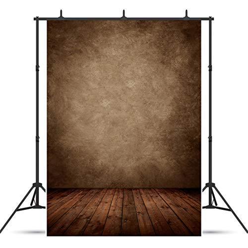 AIIKES 1.5Mx2.1M/5x7piedi Tavola di legno Sfondo Fotografico Bambini Fotografia di Sfondo Vinile per Studio Fotografico Fondale 10-702