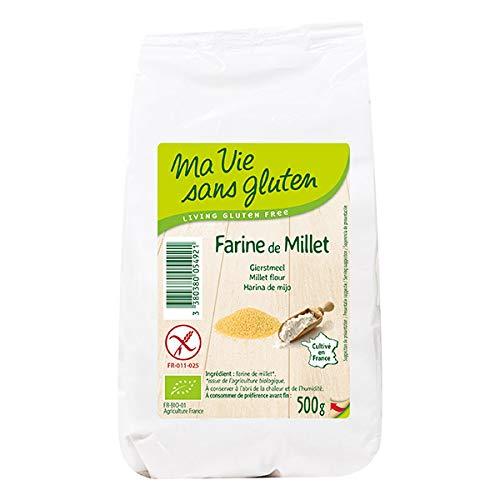 MA VIE SANS GLUTEN - Farine De Millet Jaune 500Gr