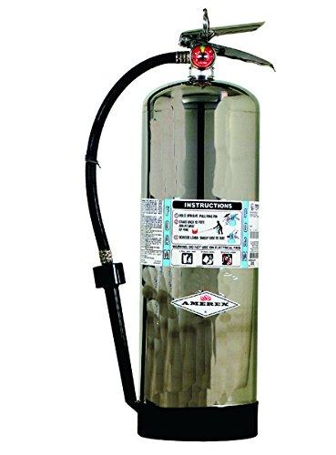 Amerex 250, 2.5 Gallon AFFF Foam Stored Pressure Class A B Fire Extinguisher