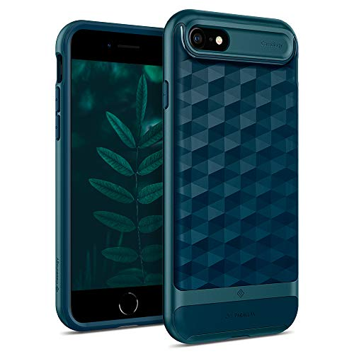 Caseology Parallax for Apple iPhone SE 2020 Case 4.7 inch for iPhone 8 (2017) for iPhone 7 (2016) - Aqua Green