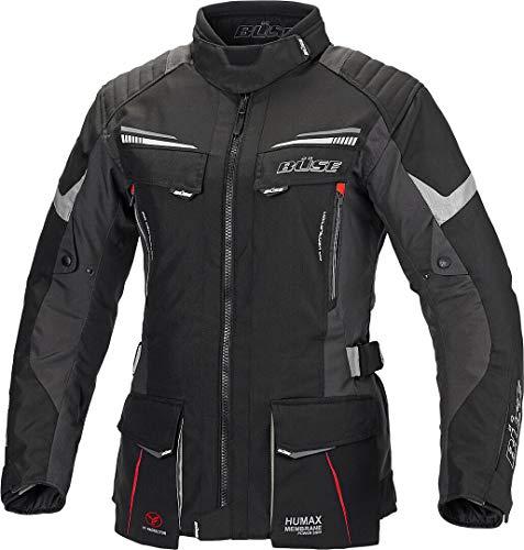 Büse Lago Pro Damen Motorrad Textiljacke Schwarz 54