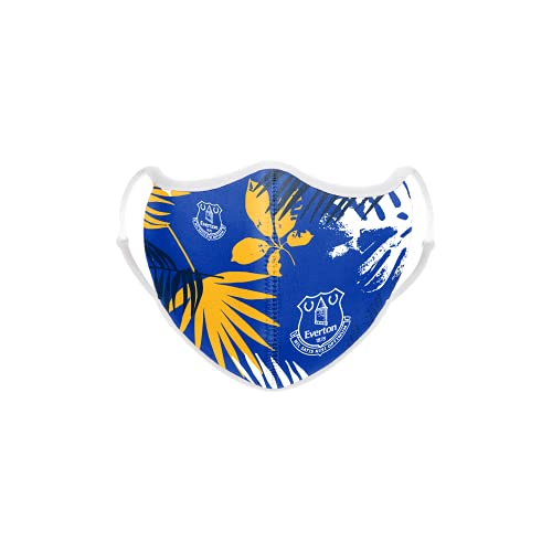 EVERTON FC FOOTBALL EPL PREMIER LEAGUE CHAMPIONSHIP FLORAL SPRING FACE COVERING