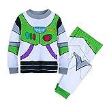 Disney Buzz Lightyear Costume PJ PALS for Boys Size 7 Multi