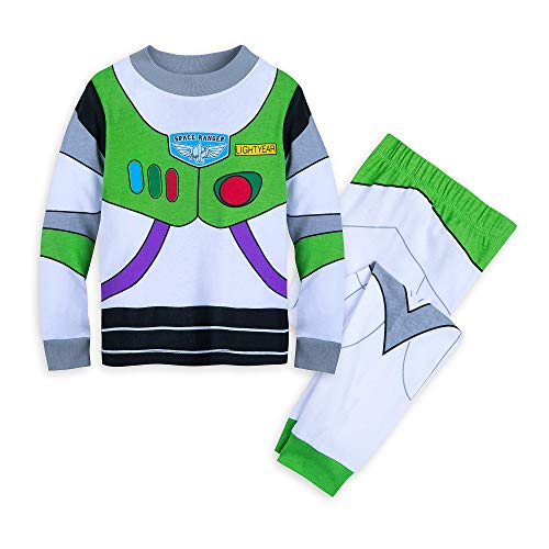 Disney Buzz Lightyear Costume PJ PALS for Boys Size 5 Multi