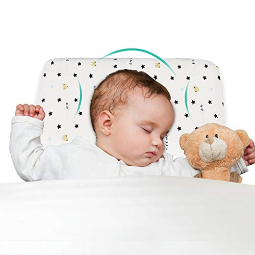 Baby Pillow for Sleeping Memory Foam Infant Pillow Baby Head Shaping Prevent Flat Head Newborn Gift