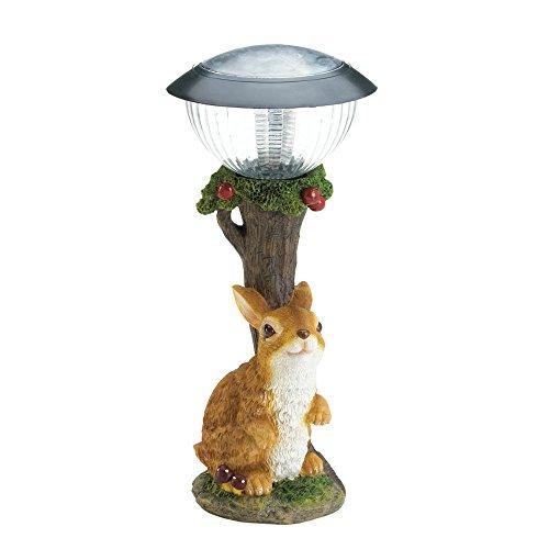 Koehler Lampe Solaire pour Chemin de Jardin Motif Lapin 34 cm