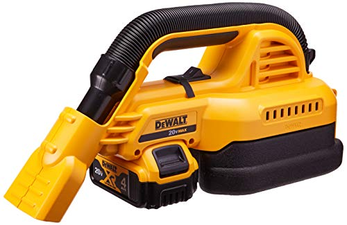 DEWALT 20V MAX Cordless Vacuum Kit, Wet/Dry, Portable, 1/2-Gallon (DCV517M1)