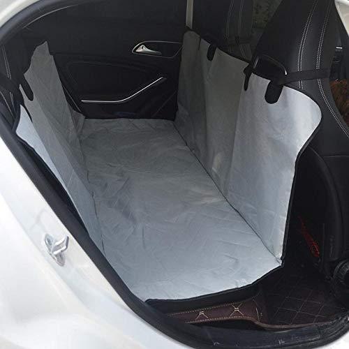 YYMMQQ Pet Carrier Dog Car Rear Seat Waterproof Beige