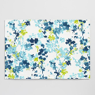 Blue Floral Margo Placemats Set of 4 | World Market