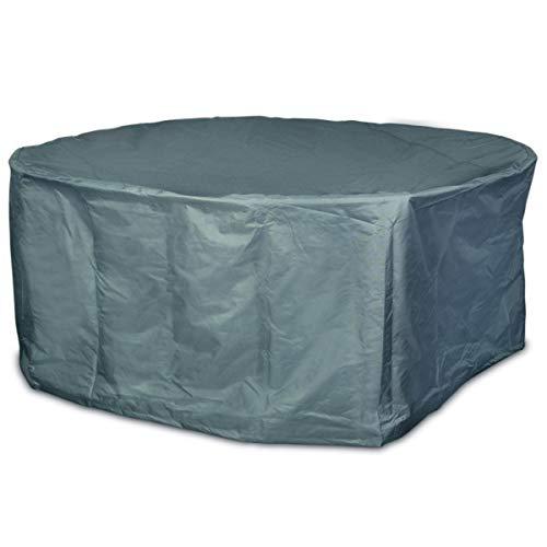 Smart Planet® Bâche de Protection en Polyester 420D pour Table de Jardin  Imperméable avec Cordon de Serrage - 200 x 95 cm