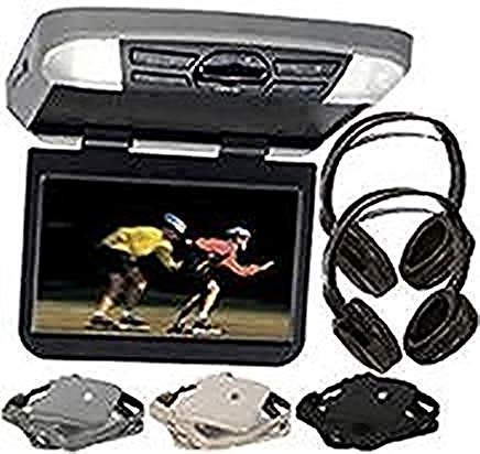 Audiovox AVXMTG10UA 10'' Overhead Monitor W/Built-in DVD Player USB/SD Input & Remote Includes 2 Wireless Headphones