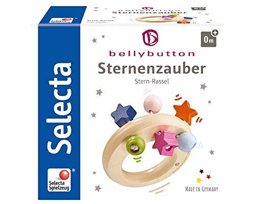 Selecta 64012 Sternenzauber, Greifling - bellybutton, 8 cm
