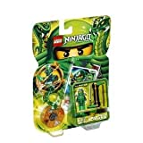 4KIDS Toy / Game Power Up Lego Ninjago Lloyd ZX 9574 with 2 Regular Weapons, Character Card and 4 Battle Cards