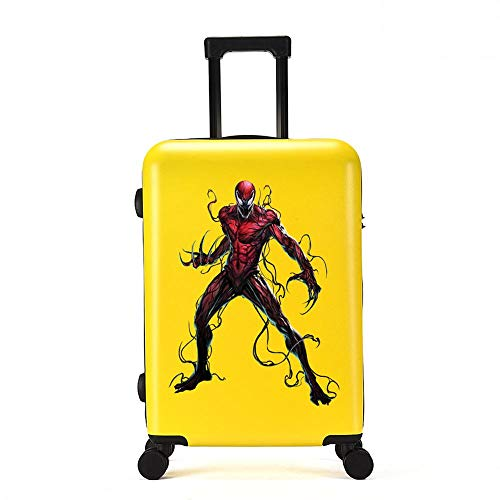 RGLTY Marvel Kindertassen Universele Wiel Bagage Spiderman koffer Leisure Trolley Case