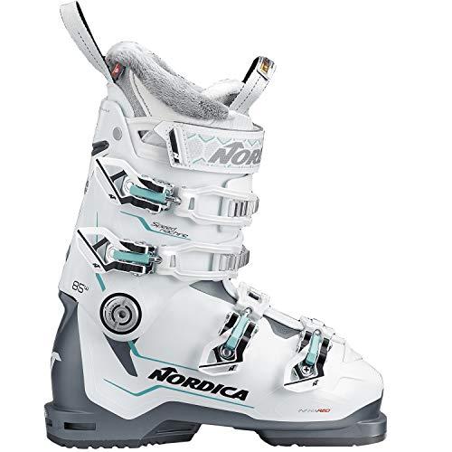Nordica Speedmachine 85 Women's Ski Boots Anthracite/White 27.5