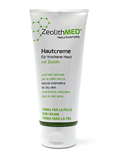Zeolith MED® Hautcreme für trockene Haut 100ml, Naturkosmetik, ohne Parabene, ohne Parfum