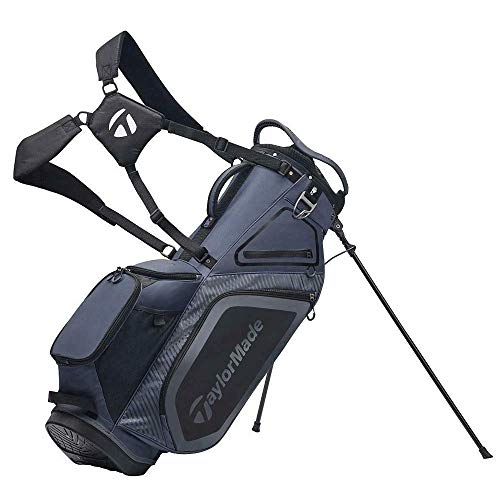 TaylorMade Pro 8.0 Stand Bag, Charcoal/Bl