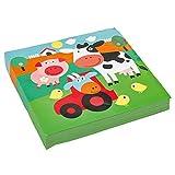 amscan 9900376 20 Servietten Farm Fun, Motiv