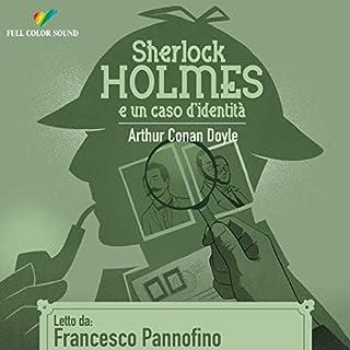 Sherlock Holmes e un caso d'identità copertina