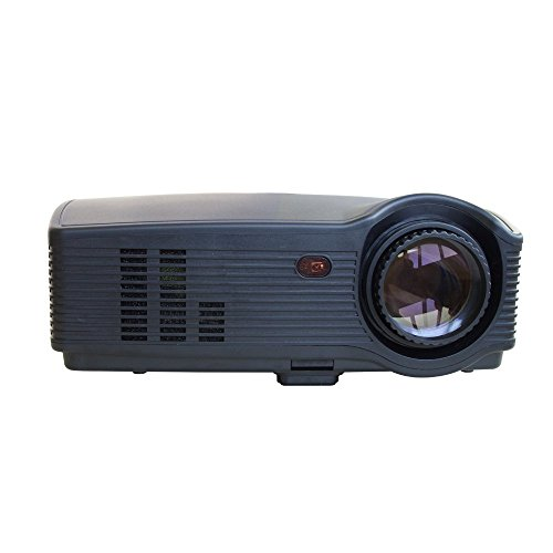 """Projector, New Update Dihome(Warranty included) 3200 lumens 150""""HD Multimedia Video Projector Huge Screen Portable LED Projector Support HD 1080P Video format"""