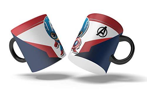 Taza Avengers Capitan America