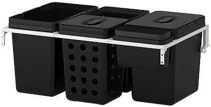 Ikea Variera Utrusta Raccolta Differenziata Per Armadio 80 Cm 72 L Amazon It Casa E Cucina
