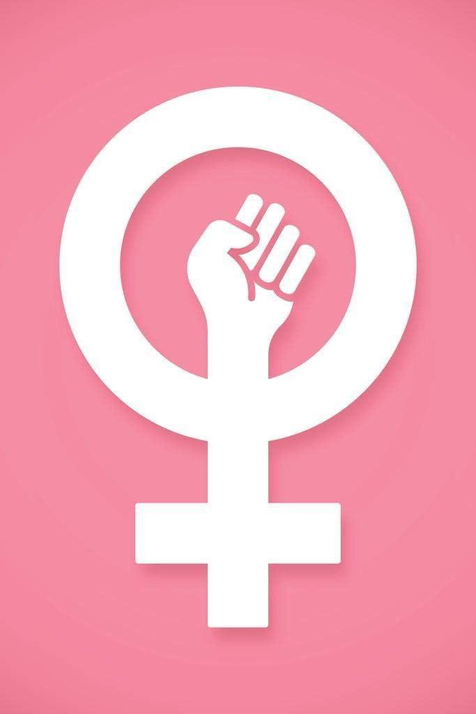 Female Empowerment Symbol