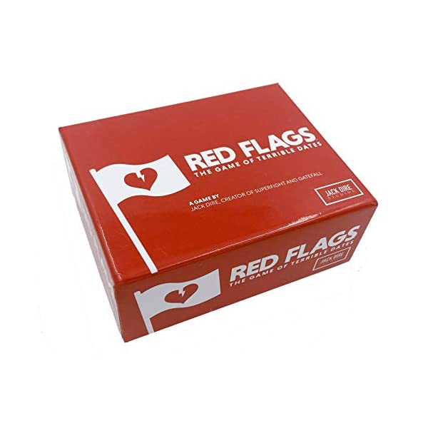 Jack Dire Studios Red Flags: Card Game of Terrible Dates   Fun Party Tabletop Game,...