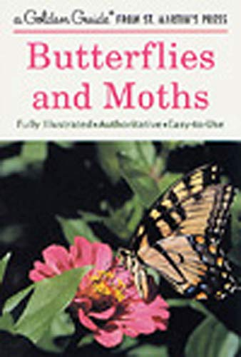 Golden Guide 160 Pages Paperback Field Guide to Butterflies and Moths Book (A Golden Guide from St. Martin's Press)
