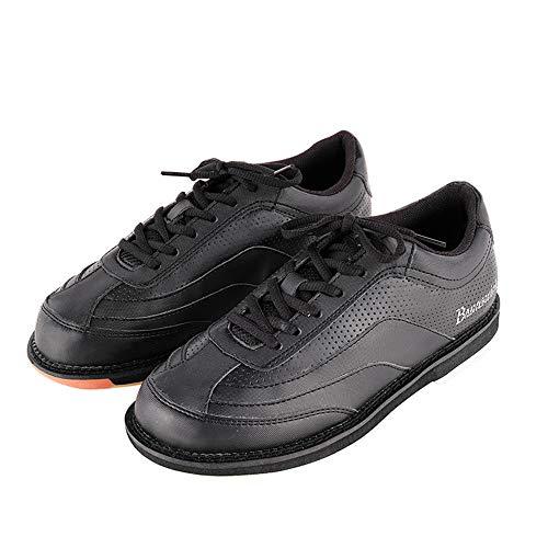 JJK Unisex Zapato De Bolera Bowling, Cuero Zapatos De La Zapatilla Atan para Arriba Las Zapatillas De Deporte Ligera Tazón Antideslizante Zapato del Deporte De Interior para Hombres Y Mujeres,45