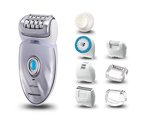 Panasonic ES-ED96 Epilator Wet/Dry for Women with Eight Attachments