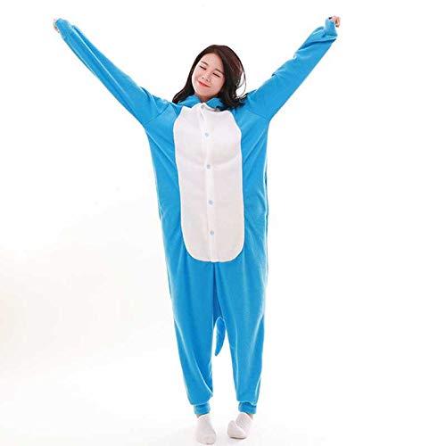 JIAWEIDAMAI - Pijama de Invierno para Adultos, Unisex, Suave y cálido, de Forro Polar