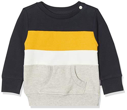 Noppies Baby-Jungen B Sweater ls Ashland Sweatshirt, Mehrfarbig (Dark Sapphire P208), (Herstellergröße: 74)