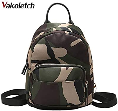 Women Backpack Waterproof Nylon Lady Womens Female Casual Travel Bags Mochila Feminina School Camouflage KL155