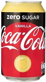 72 x Coca Cola Zero Vanilla cans, dosen, canettes, latas, lattine 0,33 L
