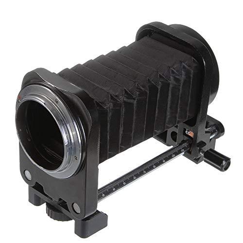 Runshuangyu Lens Macro Fold Bellow Extension Tube for Nikon Film Cinema and Digital SLR Photography Camera D750 D810 D7200 D7100 D7000 D90