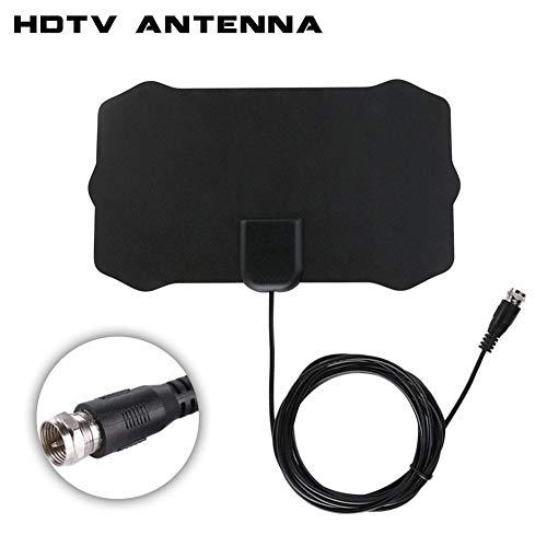 Househome Antenne TV numérique 50 Miles 1080P Intérieur Antenne TV Numérique TV Radius TV Surf TV Fox Antena HDTV Antennes Amplificateur Récepteur Mini DVB-T / T2 Antenne UHF VHF by flower205.