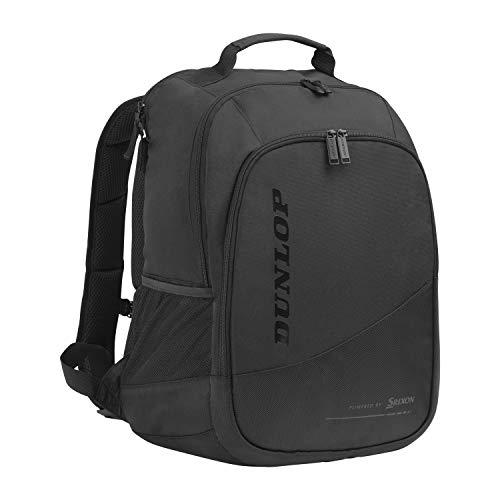 Dunlop Sports Unisex-Erwachsene 2021 CX Performance Backpack Tennis-Rucksack, schwarz/schwarz