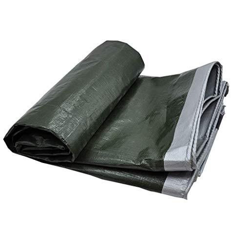 Lona Impermeable, PVC Ligero Protector Solar a Prueba de Lluvia del paño de Camiones Muelle al Aire Libre Lona Jardín Pesca Hamaca Lluvia Mosca Carpa Tarp Tienda de campaña (Color : 2X3M)