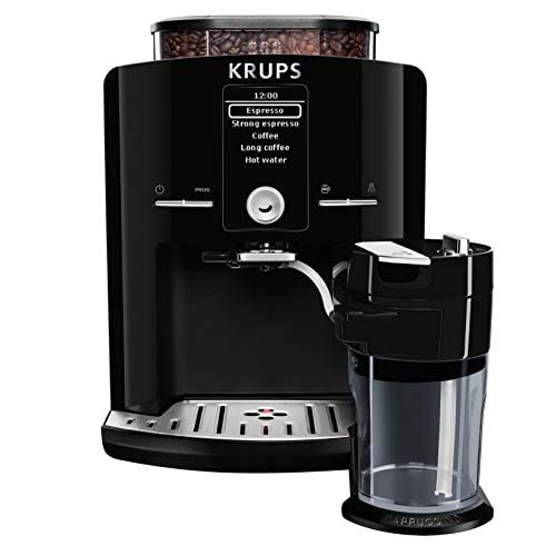Krups EA8298 Libera installazione Automatica Macchina per espresso 1.7L Nero macchina per caffè