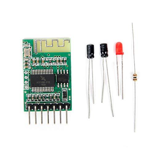 Jolicobo Placa del Receptor Inalámbrico Plantilla de Receptor de Audio Inalámbric 5V Módulo de música estéreo inalámbrica 4.0 Audio