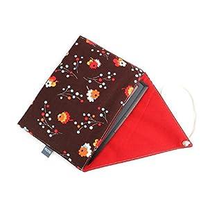 gefütterte Schutzhülle für eBook-Reader Handgenäht aus Baumwolle Design: 02FS0018