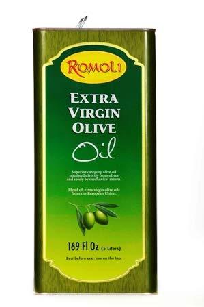 Romoli italienisches natives Olivenöl extra | Extra Vergine | 5 Liter | kaltgepresst & filtriert | 1. Güteklasse