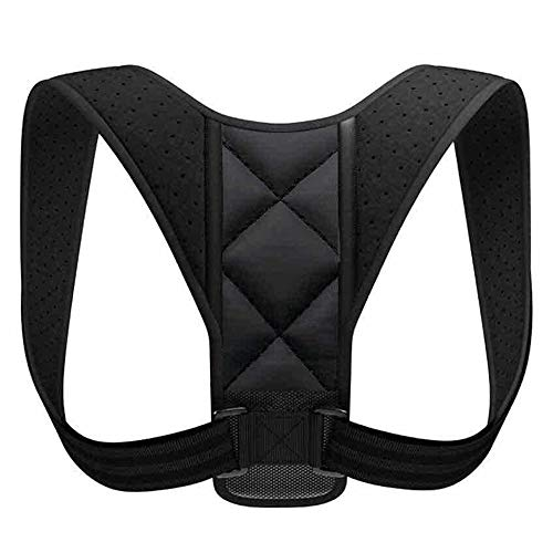 Yueshop Posture Corrector for Men and Women - Upper Back Brace Straightener with Adjustable Breathable Clavicle Support Effective for Neck, Back and Shoulder Pain Relief Lumbar Support(Unisex)