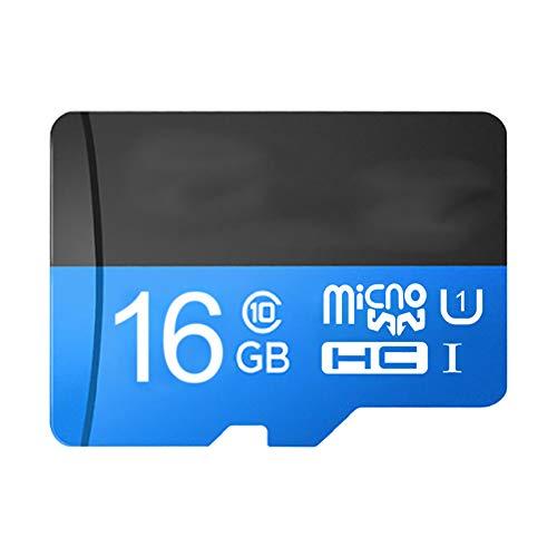 Lcme Memory Card, SD SDHC-Speicher Flash Card UHS-I wasserdichte, magnetische und hochtemperaturbeständige Speicherkarte für Handy-Driving-Recorder-Kamera,128gb
