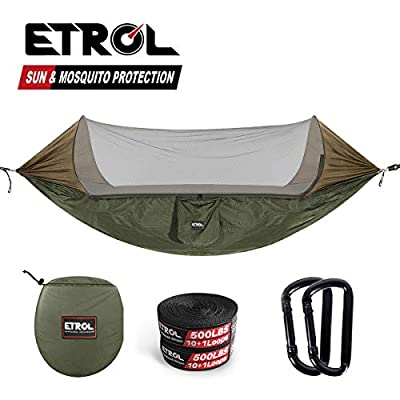 Home & Garden Hard-Working Portable Outdoor Fabric Camping Hanging Hammock Mosquito Net Parachute Bed Fragrant Aroma