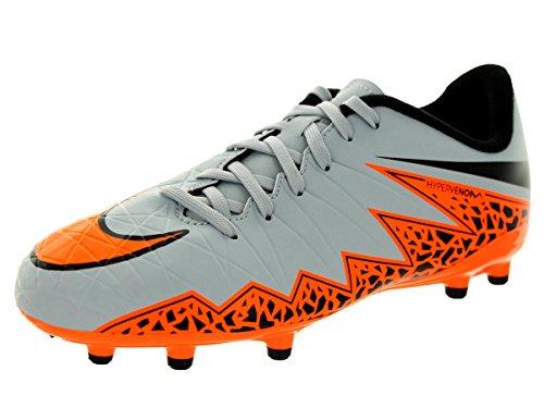 Nike Scarpa da Calcio Grigio/Arancione EU 36.5 (US 4.5Y)